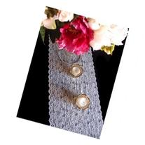 Vintage White Lace Style No.2 Table Runner