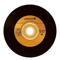 Verbatim 700MB 52X 80 Minute Digital Vinyl CD-R, 10-Disc
