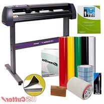 Vinyl Cutter USCutter MH 34in BUNDLE Sign Making Kit w