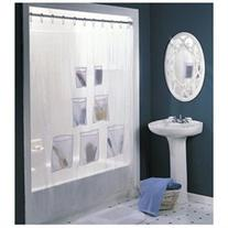 Vinyl Standard Shower Curtain, Solid, Vinyl, Shower Curtain