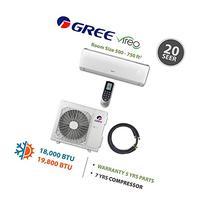 Gree VIREO 18,000 BTU Ductless Mini Split Air Conditioner w