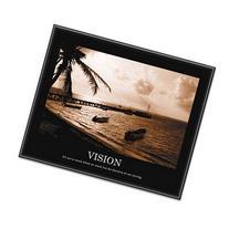 Advantus Vision Framed Sepia-Tone Motivational Print, 30 X