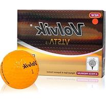 Volvik Vista iS Golf Balls - Orange