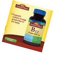 Nature Made Vitamin B-12 1000mcg 400 Softgels