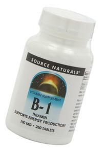 Source Naturals Vitamin B-1 Thiamin 100mg - Essential