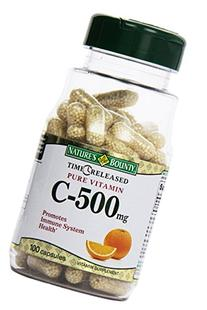 Nature's Bounty Vitamin C Pills and Supplement, Supports
