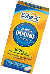 Ester-C The Better Vitamin C, 1000 mg, 60 Coated Tablets