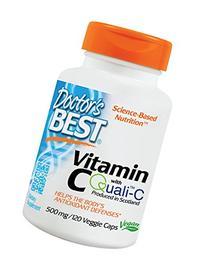 Doctor's Best Vitamin C featuring Qauli-C -- 500 mg - 120