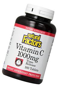 Natural Factors Vitamin C Time Release with Bioflavonoids