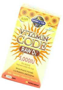 Garden of Life Vitamin Code RAW D3 Dietary Supplement - 5,