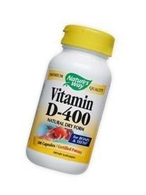 Nature'S Way Dry Vitamin D 400 Iu 100 Cap