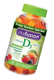 Vitafusion Vitamin D3 Gummy Vitamins, 150 ct