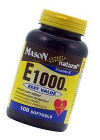 Mason Natural Vitamin E 400 IU Mixed Softgels - 100 Ea