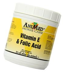 AniMed Vitamin E and Folic Acid Supplement for Horses, 2-