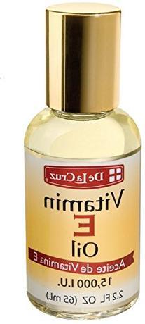 De La Cruz Vitamin E Oil 15,000 IU, No Preservatives,