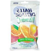Halls Defense Vitamine C Assorted Citrus 30 Drops X 12 Packs