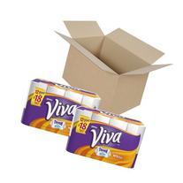 Viva Paper Towels, White, Giant Roll, 12 Rolls , Garden,