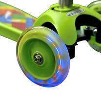 Vokul® VK-1281F Mini Kick 3 Wheel Scooter with Flash Wheel