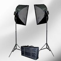 ePhoto VL9026s 2000 Watt Lighting Studio Portrait Kit with