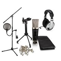 M-Audio Vocal Studio Pack Samson HP10 JamStand Filter Shock