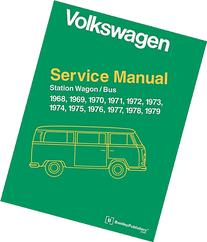 Volkswagen Station Wagon, Bus, Official Service Manual 1968