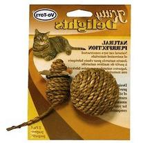 Votoy All Natural Seagrass Mouse & Ball 2Pk