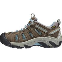 KEEN Voyageur Hiking Shoe - Women's Brindle/Alaskan Blue, 9.