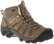 KEEN Voyageur Mid Hiking Boot - Women's Brindle/Custard, 8.5