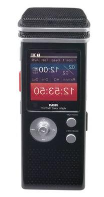 RCA VR5340 800 Hour Digital Voice Recorder with Full Color
