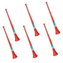Vuvuzela - South African Style Collapsible Horn, Red
