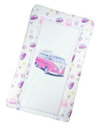 Pink VW Camper Van Baby Changing Mat - Pink Camper