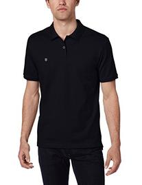 Victorinox Men's VX Stretch Pique Polo, Navy, Medium