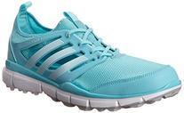 adidas Women's W Climacool II Golf Shoe, Clear Aqua/Running