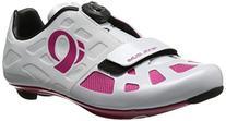 Pearl Izumi Women's W Elite RD IV Cycling Shoe, White/Pink