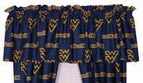 College Covers West Virginia Mountaineers Printed Curtain
