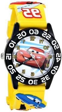 Disney Kids' W001505 Time Teacher Disney Cars Watch With