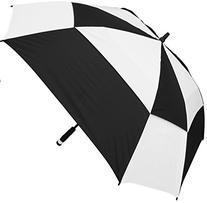 RainStoppers W075 Windbuster Square Golf Arc Umbrella with