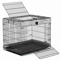 Wabbitat Wire Rabbit Cage in Black