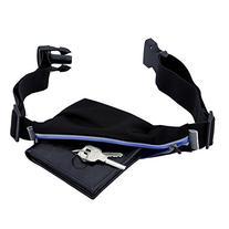Running Belt by URPOWER with Reinforced Zipper,One