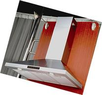 Kitchen Bath Collection STL75-LED Stainless Steel Wall-