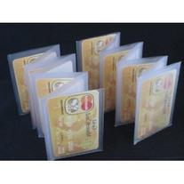 Wallet Inserts Set of 2 Accordian Style Card Picture Holder