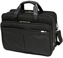McKleinUSA WALTON 73985 Black Expandable Double Compartment