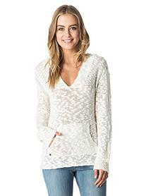 Roxy Junior's Warm Heart Sweater, Sea Spray, Small