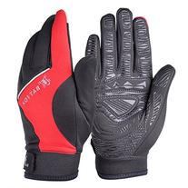 Vbiger Men's Outdoor Warm Touch Screen Cycling Hiking Gloves