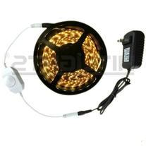 Warm White SMD3528 LED Tape Light Strip Kit - 300 LEDs, 16.4