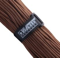 TITAN WarriorCord | DARK EARTH | 103 CONTINUOUS FEET | Exceeds Authentic MIL-C-5040, Type III 550 Paracord Standards. 7 Strand, 5/32