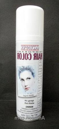 Spray On Wash Out White Hair Color Temporary Hairspray Great