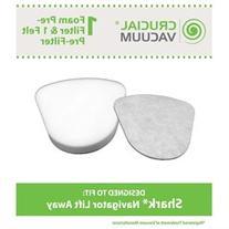 Crucial Vacuum Washable Foam & Felt Pre-Filter Replacement 2
