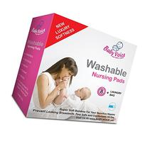 Washable Nursing Pads 10 Pack  + Laundry & Travel Bag + Free
