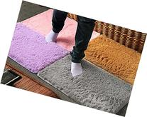 Washable?Plush Velvet Slip Mats And Dust Doormat Absorbent